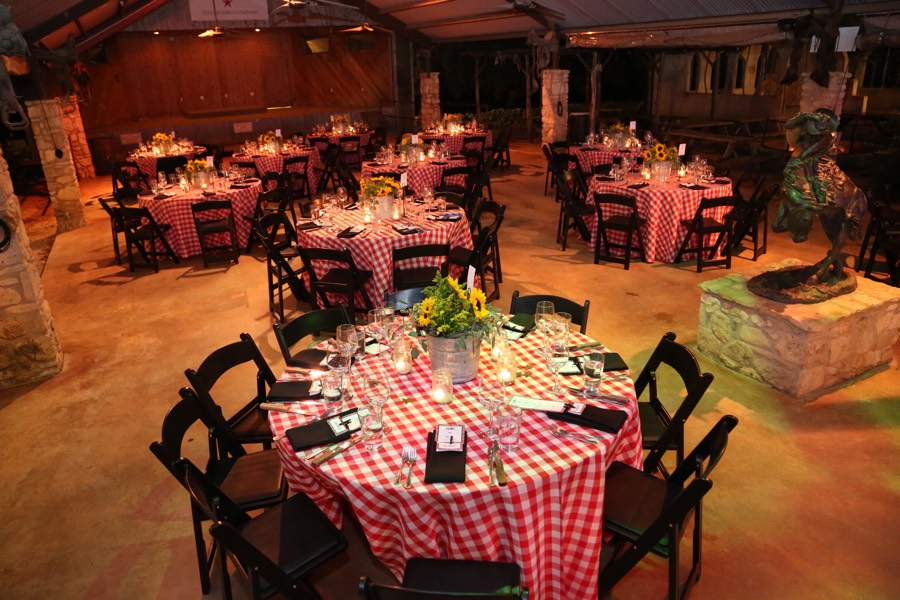 Rodeo Corporate Event Table Setting